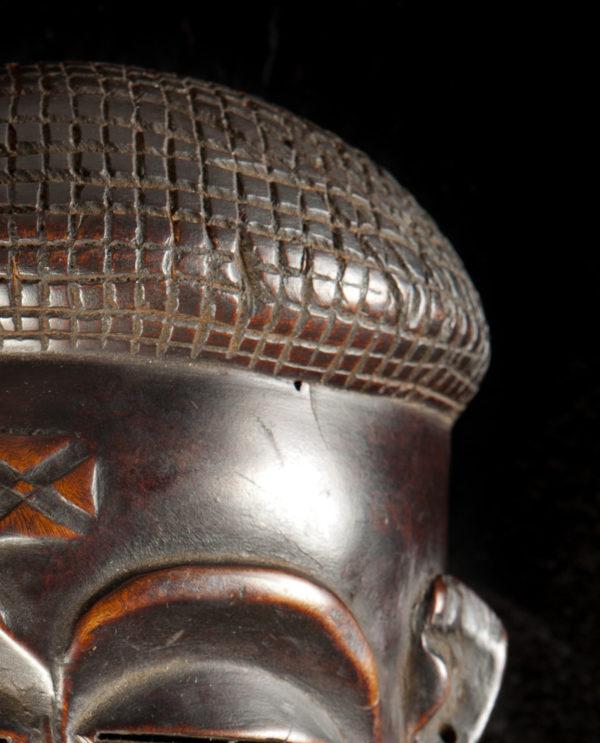 Maschera Angola Chokwe P0030 - Art Primitivo e contemporaneo - gallery Arts - arte primitiva africa - shop - spoleto umbria