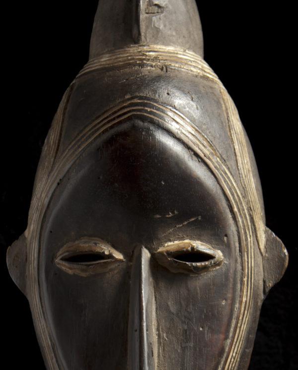 Maschera Bassa della Liberia Mao P0022 - Art Primitivo e contemporaneo - gallery Arts - arte primitiva africa - shop - spoleto umbria