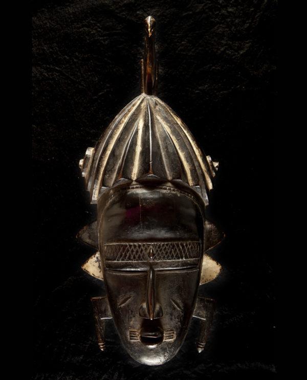 Maschera Bassa della Liberia africa P0029 - Art Primitivo e contemporaneo - gallery Arts - arte primitiva africa - shop - spoleto umbria