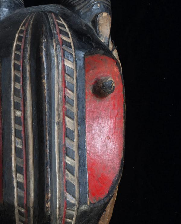 Maschera Costa d'Avorio Baulé P0023 - Art Primitivo e contemporaneo - gallery Arts - arte primitiva africa - shop - spoleto umbria