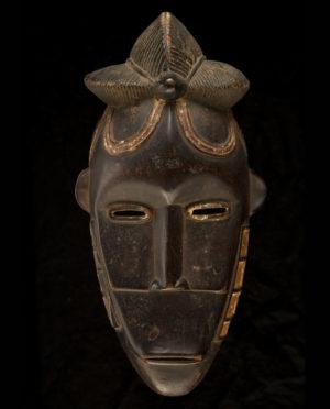 Maschera Costa d'Avorio Bete P0033 - Art Primitivo e contemporaneo - gallery Arts - arte primitiva africa - shop - spoleto umbria