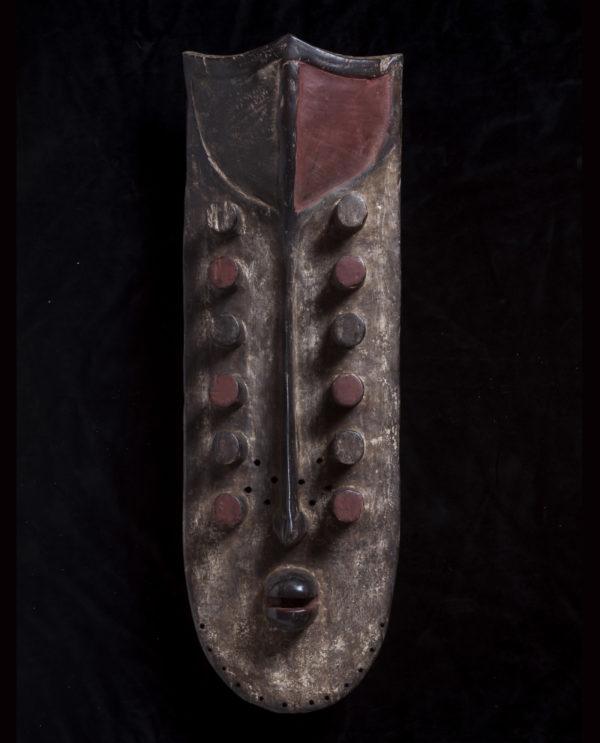 Maschera Costa d'Avorio Grebo P0037 - Art Primitivo e contemporaneo - gallery Arts - arte primitiva africa - shop - spoleto umbria
