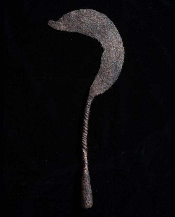 Moneta ascia Camerun, Nigeria Kirdi P0045 - Art Primitivo e contemporaneo - gallery Arts - arte primitiva africa - tribal art - shop - spoleto umbria