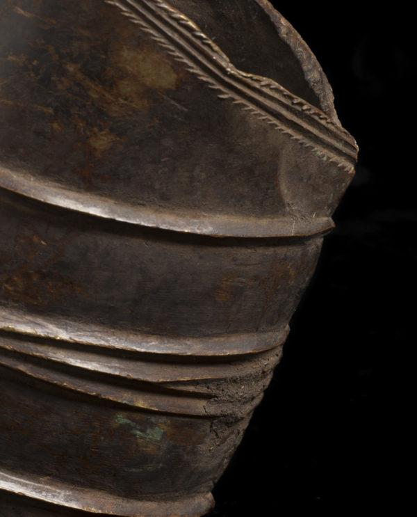 Moneta R.D.C. cavigliera Konga P0040 - Art Primitivo e contemporaneo - gallery Arts - arte primitiva africa - tribal art - shop - spoleto umbria