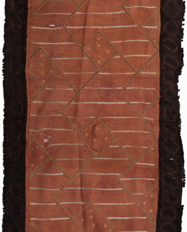 Tessuto Ntshak R.D.C. Bakuba P0050 gonne cerimoniali del popolo regale dei Bakuba - Art Primitivo e contemporaneo - gallery Arts - arte primitiva africa - tribal art - shop - spoleto umbria 2