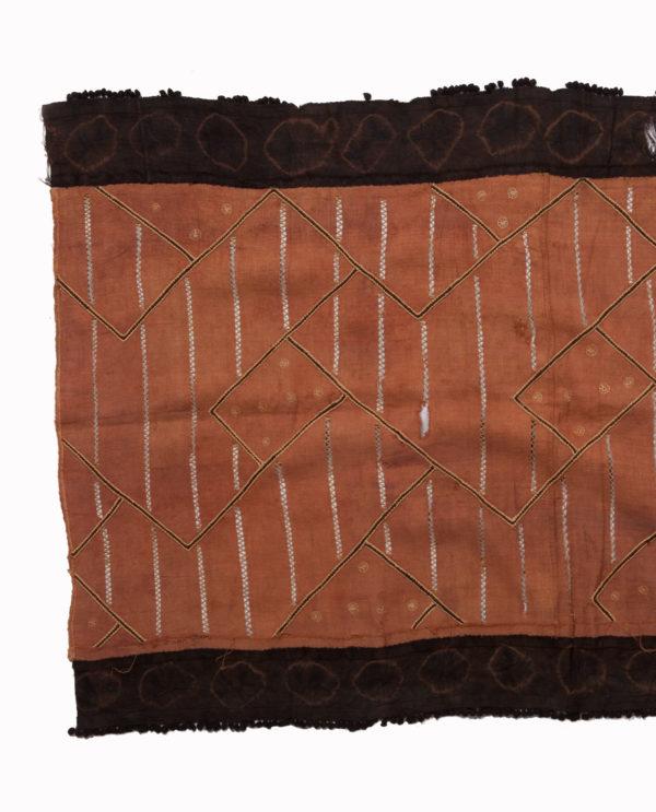 Tessuto Ntshak R.D.C. Bakuba P0050 gonne cerimoniali del popolo regale dei Bakuba - Art Primitivo e contemporaneo - gallery Arts - arte primitiva africa - tribal art - shop - spoleto umbria 3