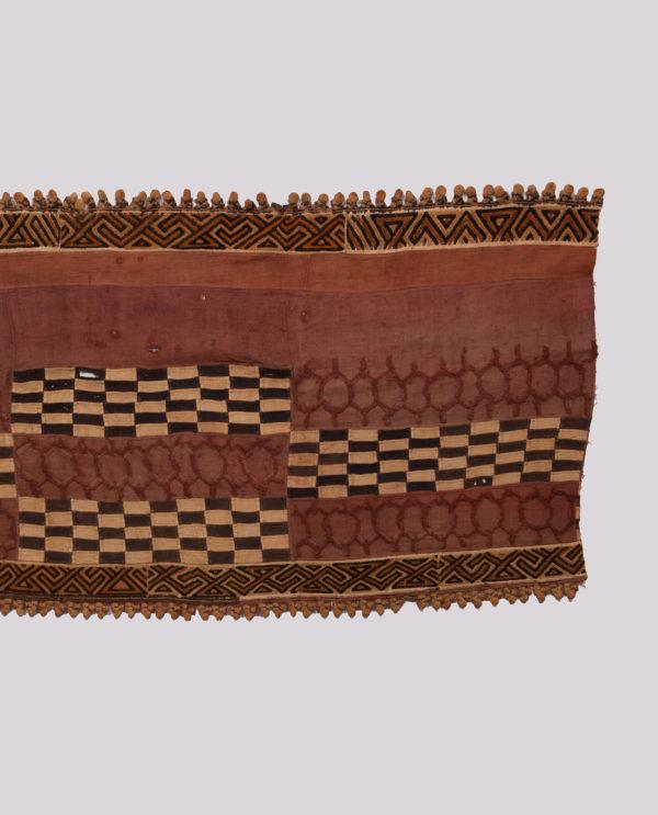 Tessuto Ntshak R.D.C. Bakuba P0051 gonne cerimoniali del popolo regale dei Bakuba - Art Primitivo e contemporaneo - gallery Arts - arte primitiva africa - tribal art - shop - spoleto umbria 4