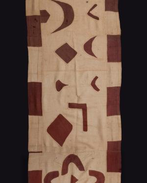 Tessuto Ntshak R.D.C. Bakuba P0052 gonne cerimoniali del popolo regale dei Bakuba - Art Primitivo e contemporaneo - gallery Arts - arte primitiva africa - tribal art - shop - spoleto umbria 2