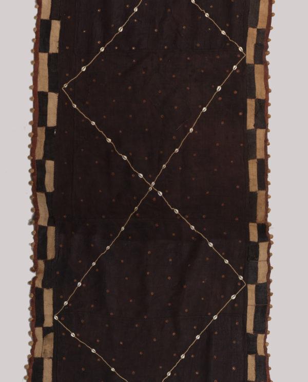 Tessuto Ntshak R.D.C. Bakuba P0053 gonne cerimoniali del popolo regale dei Bakuba - Art Primitivo e contemporaneo - gallery Arts - arte primitiva africa - tribal art - shop - spoleto umbria