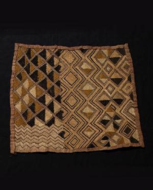 Tessuto Shoowa R.D.C. Kasai P0060 - Art Primitivo e contemporaneo - gallery Arts - arte primitiva africa - tribal art - shop - spoleto umbria
