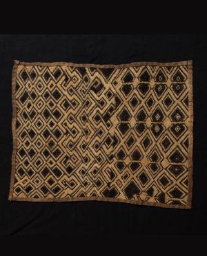 Tessuto Shoowa R.D.C. Kasai P0061 - Art Primitivo e contemporaneo - gallery Arts - arte primitiva africa - tribal art - shop - spoleto umbria