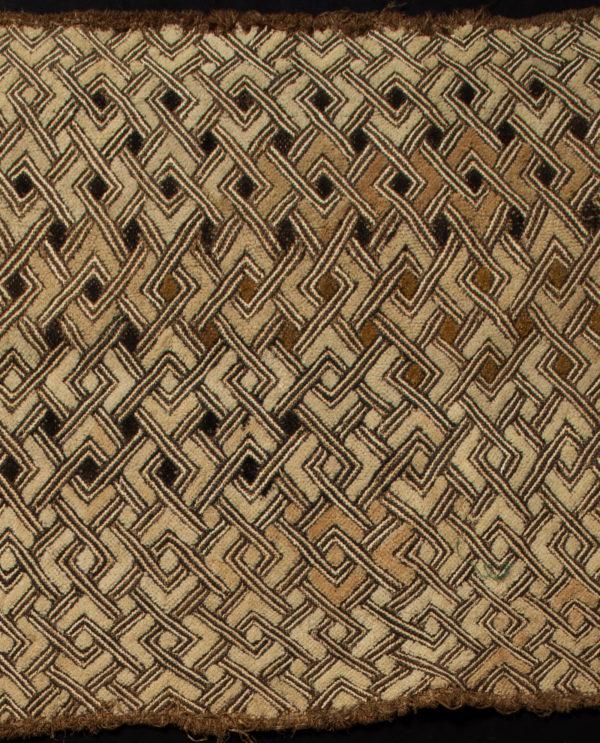 Tessuto Shoowa R.D.C. Kasai P0062 - Art Primitivo e contemporaneo - gallery Arts - arte primitiva africa - tribal art - shop - spoleto umbria