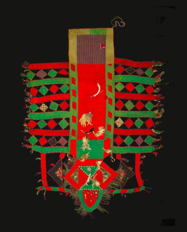 Coperta cerimoniale per cammelli Turkestan Asia Centrale P0072 - Art Primitivo e contemporaneo - gallery Arts - arte primitiva africa - tribal art - shop - spoleto umbria