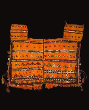 Coperta da cavallo Qashqai Asia Centrale P0073 - Art Primitivo e contemporaneo - gallery Arts - arte primitiva africa - tribal art - shop - spoleto umbria