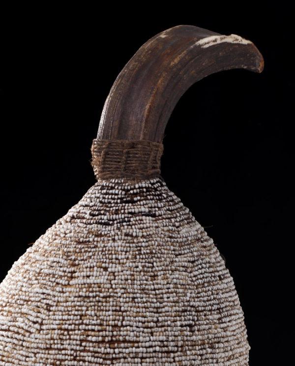 Copricapo Lega Repubblica democratica del congo P0140 - Art Primitivo e contemporaneo - gallery Arts - arte primitiva africa - tribal art - shop - spoleto umbria