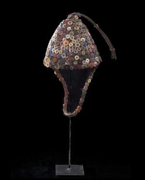 Copricapo Lega Repubblica democratica del congo P0142 - Art Primitivo e contemporaneo - gallery Arts - arte primitiva africa - tribal art - shop - spoleto umbria