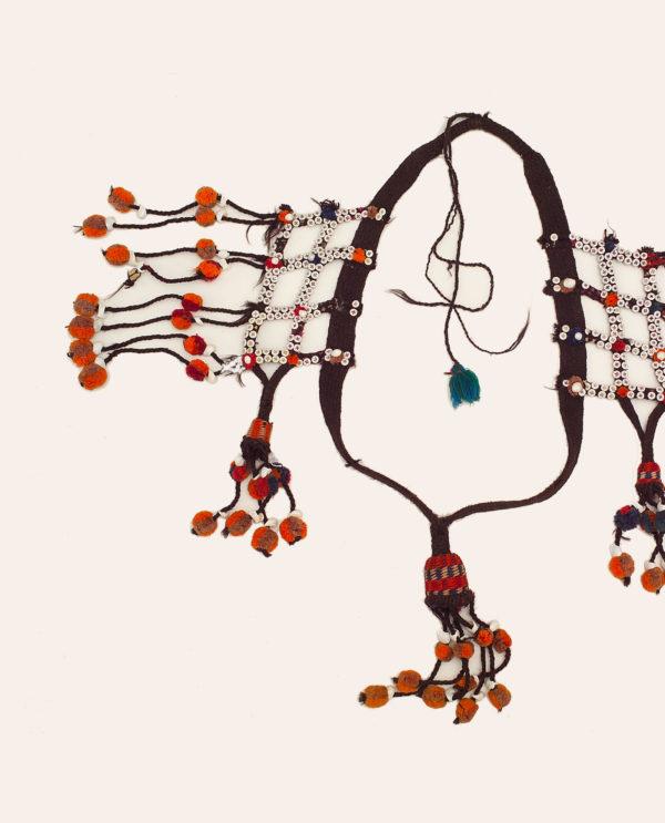 Ornamento da cavallo Uzbeki Asia Centrale P0090 - Art Primitivo e contemporaneo - gallery Arts - arte primitiva africa - tribal art - shop - spoleto umbria