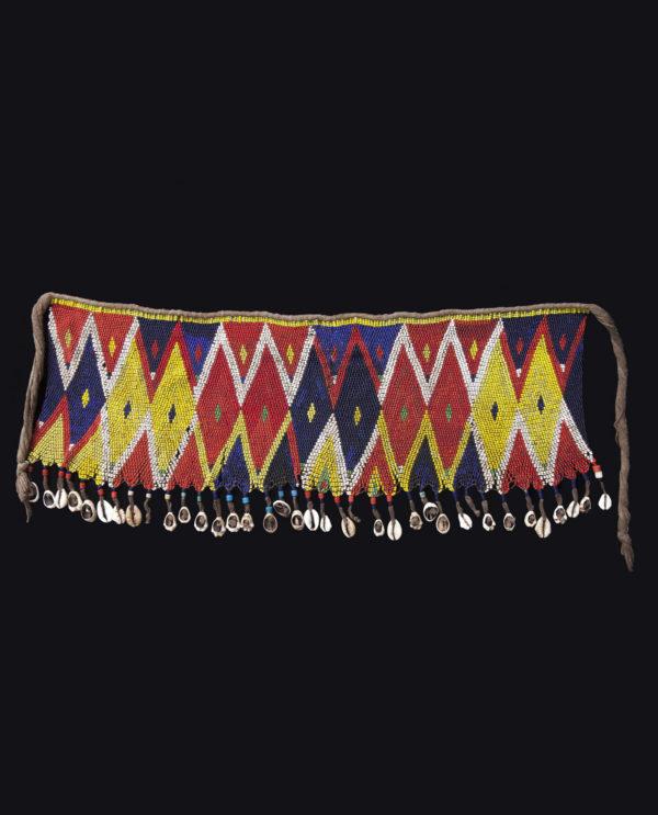Ornamento perizoma Kirdi Camerun P0120 - Art Primitivo e contemporaneo - gallery Arts - arte primitiva africa - tribal art - shop - spoleto umbria