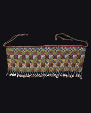 Ornamento perizoma Kirdi Camerun P0121 - Art Primitivo e contemporaneo - gallery Arts - arte primitiva africa - tribal art - shop - spoleto umbria