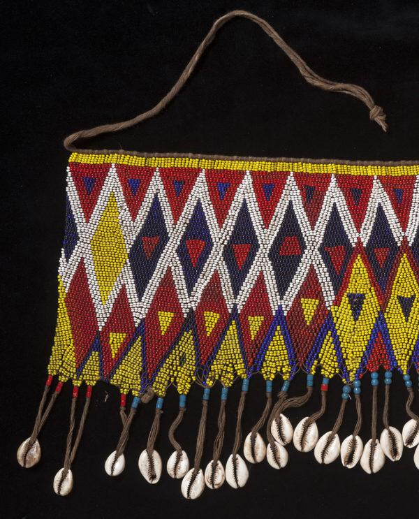 Ornamento perizoma Kirdi Camerun P0122 - Art Primitivo e contemporaneo - gallery Arts - arte primitiva africa - tribal art - shop - spoleto umbria
