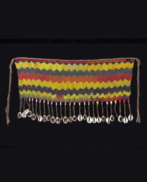 Ornamento perizoma Kirdi Camerun P0123 - Art Primitivo e contemporaneo - gallery Arts - arte primitiva africa - tribal art - shop - spoleto umbria