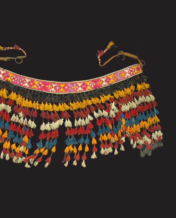 Ornamento perizoma Uzbeki Asia Centrale P0126 - Art Primitivo e contemporaneo - gallery Arts - arte primitiva africa - tribal art - shop - spoleto umbria