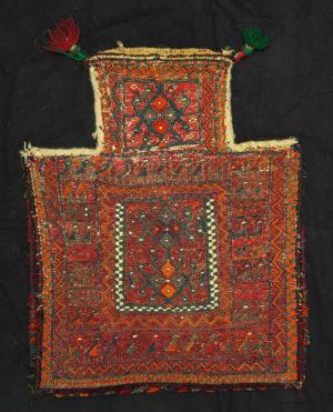 Sacca per il sale Hamadan Baktiary P0085 - Art Primitivo e contemporaneo - gallery Arts - arte primitiva africa - tribal art - shop - spoleto umbria-