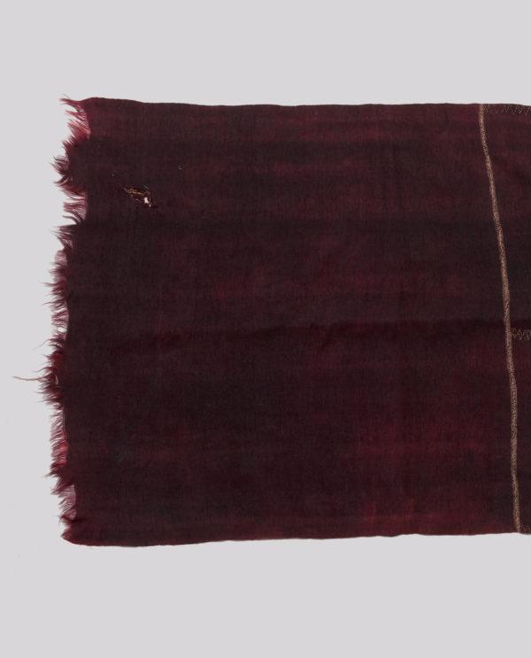 Scialle Bakhnouq Berberi Libia P0161 - Art Primitivo e contemporaneo - gallery Arts - arte primitiva africa - tribal art - shop - spoleto umbria