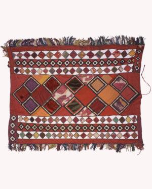 Tessuto ornamentale da parete Yuruk Yastik Uzbekistan P0083 - Art Primitivo e contemporaneo - gallery Arts - arte primitiva africa - tribal art - shop - spoleto umbria