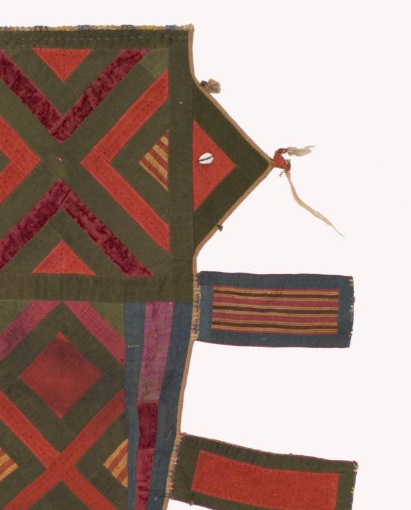 Tessuto ornamentale protettivo Turkmenistan P0082 - Art Primitivo e contemporaneo - gallery Arts - arte primitiva africa - tribal art - shop - spoleto umbria