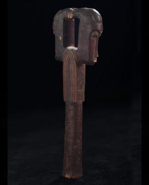 Bacchetta Baulé Costa d'Avorio P0210 - Primitivo e contemporaneo - Art Gallery - arte primitiva africa - Asia - tribal art - shop - spoleto umbria - collezionismo