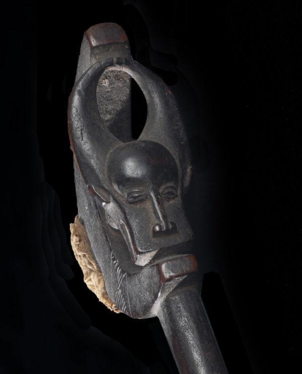 Bacchetta da gong Baule P0182 - Primitivo e contemporaneo - Art Gallery - arte primitiva africa - Asia - tribal art - shop - spoleto umbria - collezionismo