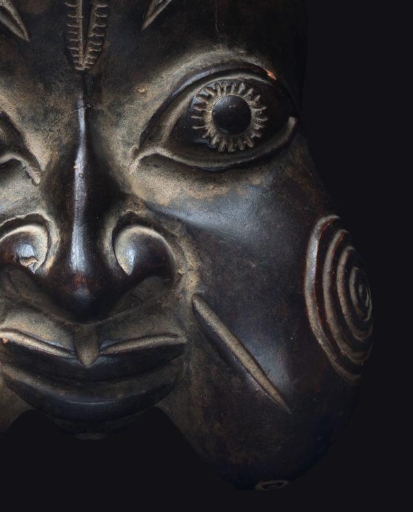 Contenitore per Pipa Bamun Camerun P0180 - Primitivo e contemporaneo - Art Gallery - arte primitiva africa - Asia - tribal art - shop - spoleto umbria - collezionismo