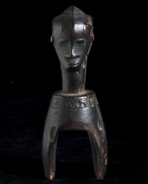 Puleggia da telaio Gouro Costa d'Avorio P0214 - Primitivo e contemporaneo - Art Gallery - arte primitiva africa - Asia - tribal art - shop - spoleto umbria - collezionismo