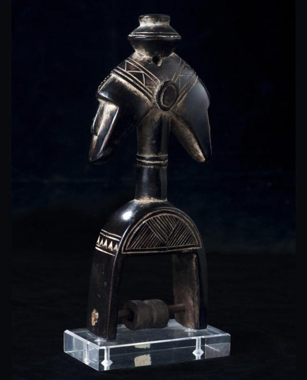 Puleggia da telaio Senufo Costa d'Avorio P0211 - Primitivo e contemporaneo - Art Gallery - arte primitiva africa - Asia - tribal art - shop - spoleto umbria - collezionismo