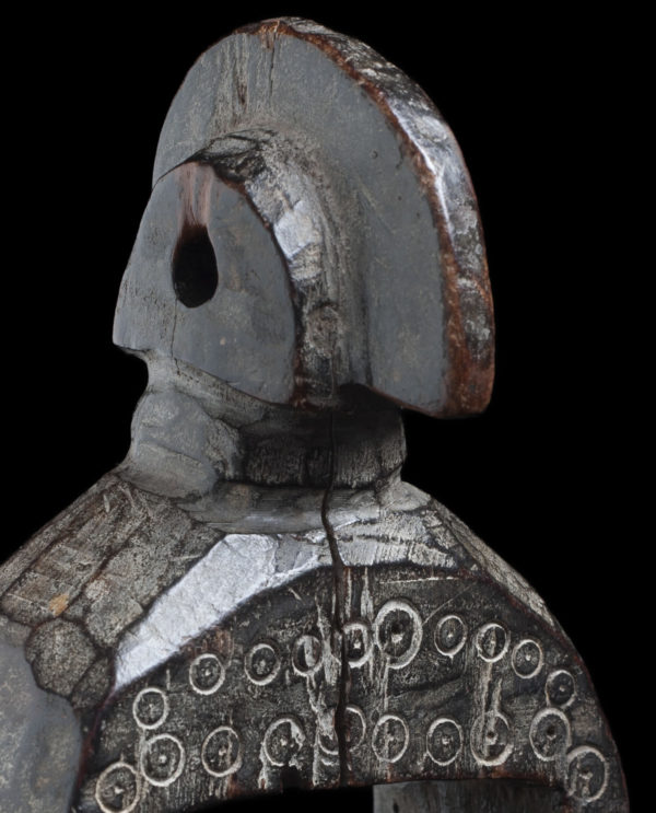 Puleggia da telaio Senufo Costa d'Avorio P0212 - Primitivo e contemporaneo - Art Gallery - arte primitiva africa - Asia - tribal art - shop - spoleto umbria - collezionismo