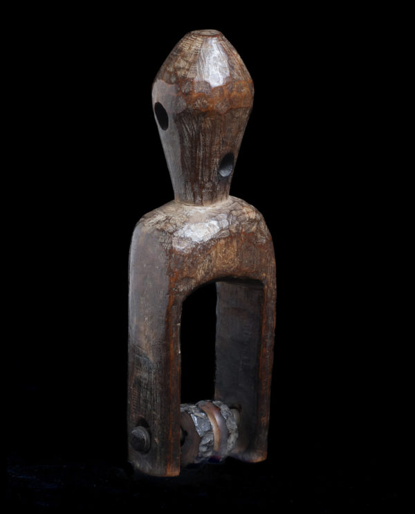 Puleggia da telaio Senufo Costa d'Avorio P0213 - Primitivo e contemporaneo - Art Gallery - arte primitiva africa - Asia - tribal art - shop - spoleto umbria - collezionismo