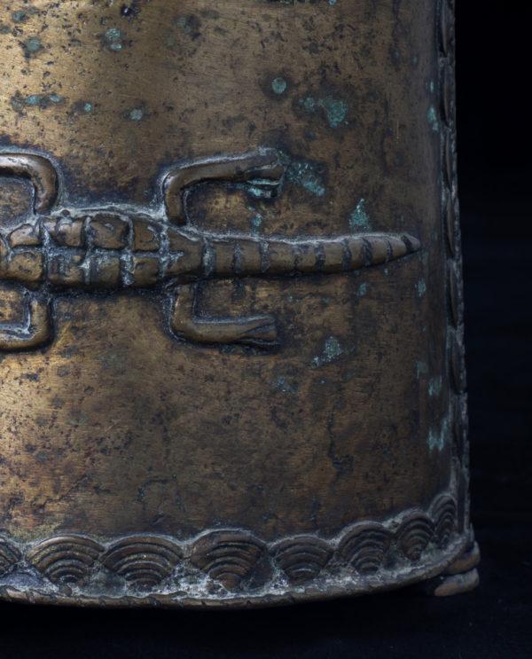 Recipiente Kuduo Ashanti Ghana P0204 - Primitivo e contemporaneo - Art Gallery - arte primitiva africa - Asia - tribal art - shop - spoleto umbria - collezionismo 2