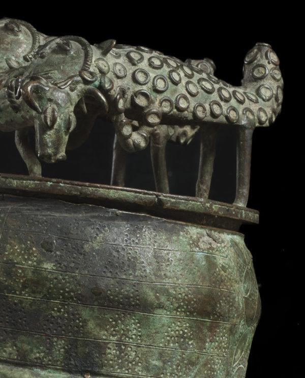 Recipiente regale rituale Kuduo Ashanti Ghana P0203 - Primitivo e contemporaneo - Art Gallery - arte primitiva africa - Asia - tribal art - shop - spoleto umbria - collezionismo