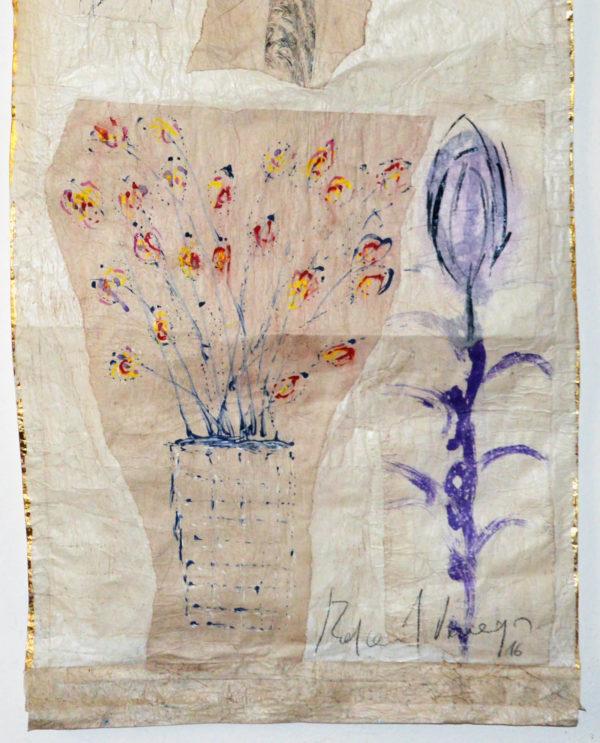 Carmen Rafael Vanegas 44 x 186 cm - Art Primitivo e contemporaneo - gallery Arts - arte - shop - spoleto umbria C0223