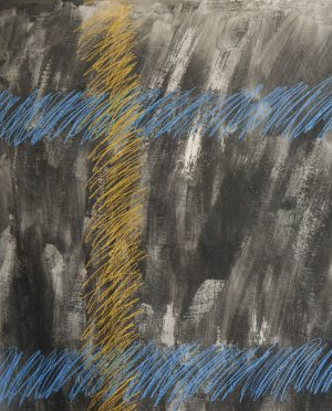 Placenta, nero tartan CSA06 serafino amato-Art-Primitivo-e-contemporaneo-gallery-Arts-arte-shop-spoleto-umbria